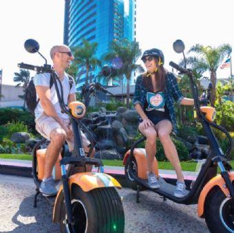 Coronado: GPS-Guided Scooter Tour & Round-Trip Ferry