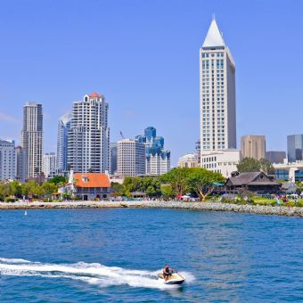 Jet Ski Rental - San Diego Harbor