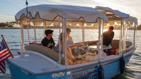 Mission Bay Private Duffy Boat Rental