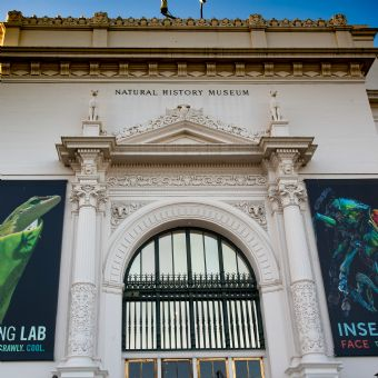 Entrance to the San Diego Natural History Museum