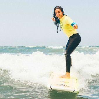 La Jolla Surfing Lesson
