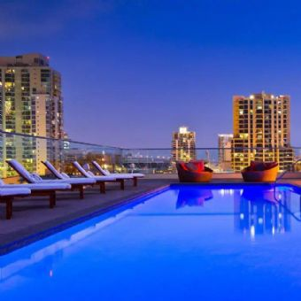 Rooftop pool, Andaz San Diego, a Concept by Hyatt