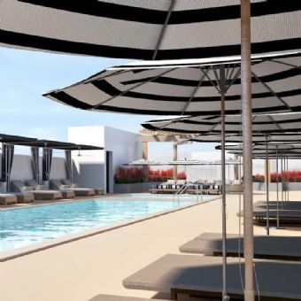 Outdoor pool, Carte Hotel San Diego Downtown, Curio Collection By Hilton
