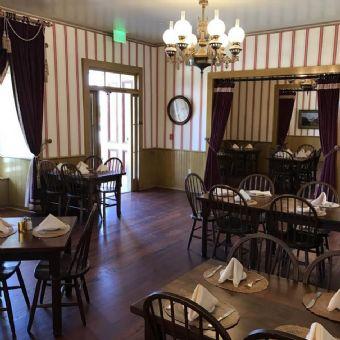 Restaurant Sitting Area at Cosmopolitian Hotel