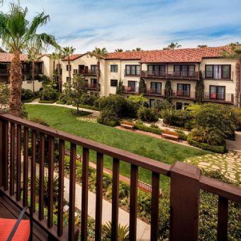 Balcony View at Estancia La Jolla Hotel & Spa