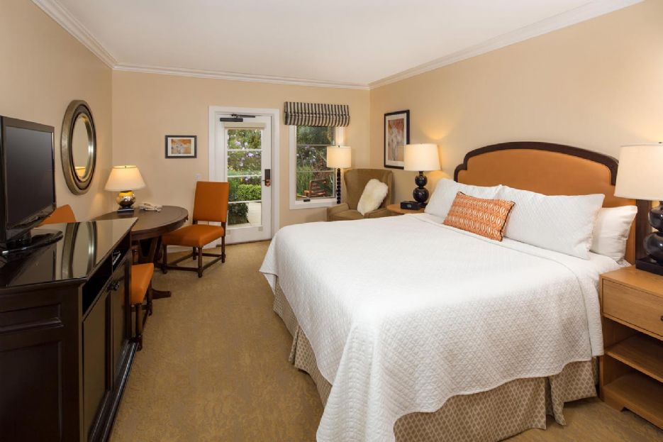 Veranda King Bedroom at Estancia La Jolla Hotel & Spa