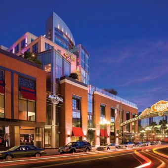 Exterior view, Hard Rock Hotel San Diego