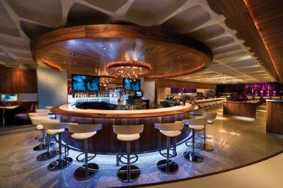 Bar lounge area, Hard Rock Hotel San Diego