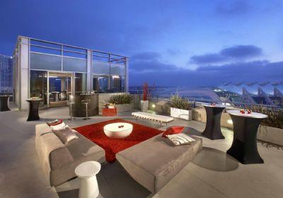 Outdoor reception, Hard Rock Hotel San Diego