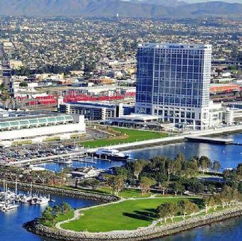 Perfect bay location, Hilton San Diego Bayfront
