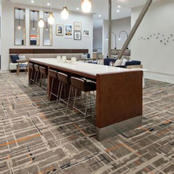 Lobby Dinning Table at Homewood Suites By Hilton San Diego Central