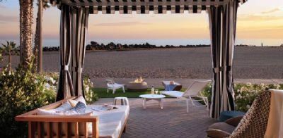 Cabana terrace view, Hotel del Coronado, Curio Collection by Hilton