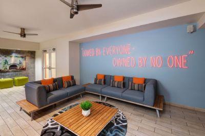 Rooftop bar lounge, Hotel Indigo San Diego Gaslamp Quarter