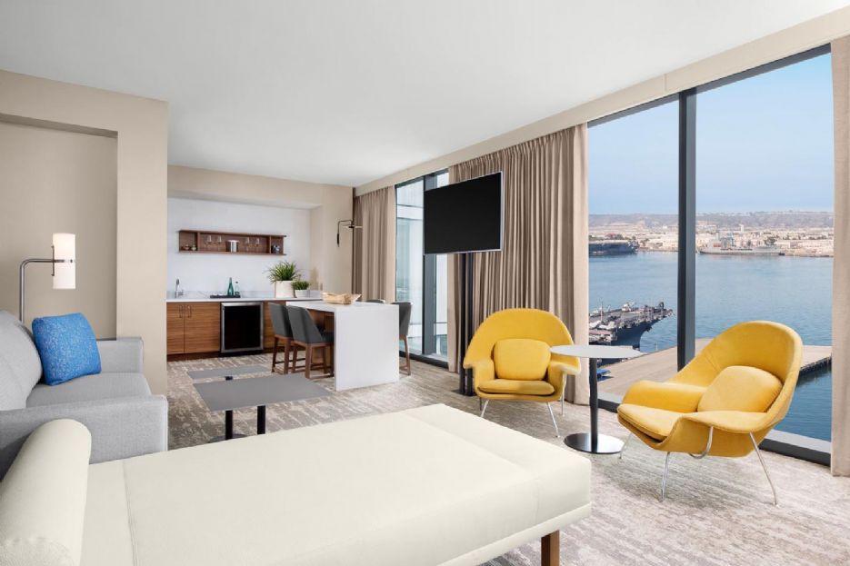 Suite living room, InterContinental San Diego