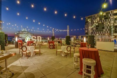 Outdoor event terrace, InterContinental San Diego
