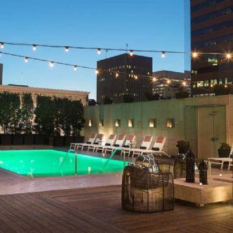 Rooftop pool, Kimpton Hotel Palomar San Diego