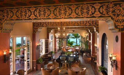 Interior Design at La Valencia Hotel