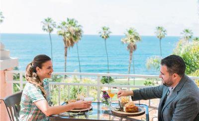 Terrace Dining at La Valencia Hotel