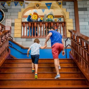 Castle Tour at Legoland California Resort and Castle Hotel