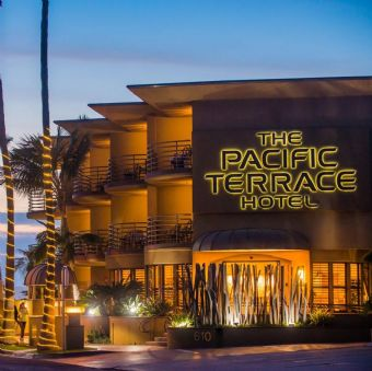 Exterior view, Pacific Terrace Hotel