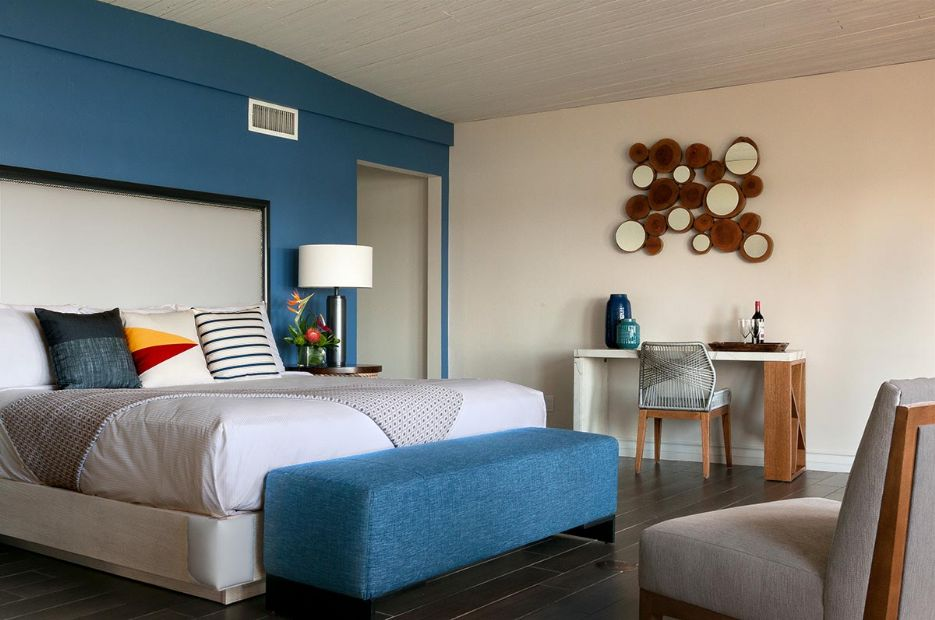 Presidential suite bedroom, Paradise Point Resort & Spa