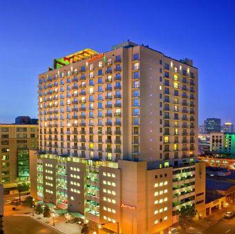 Exterior view, San Diego Marriott Gaslamp Quarter