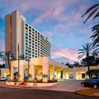 Exterior view of San Diego Marriott Mission Valley