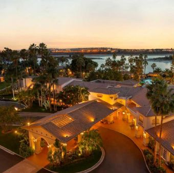Exterior view, San Diego Mission Bay Resort
