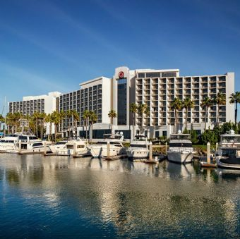 Exterior view of Sheraton San Diego Hotel & Marina