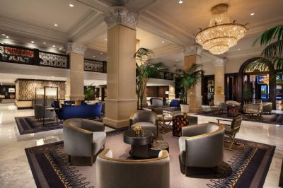 Lobby sitting area, The US Grant, a Luxury Collection Hotel, San Diego
