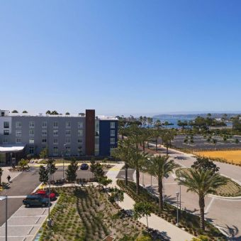 Guestroom outdoor view TownePlace Suites by Marriott San Diego Airport / Liberty Station