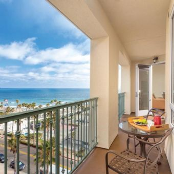 Terrace View at Wyndham Oceanside at the Pier