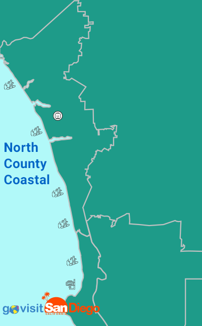 North County San Diego Neighborhoods Map