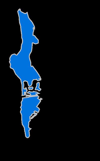 San Diego Central Beaches Boundries