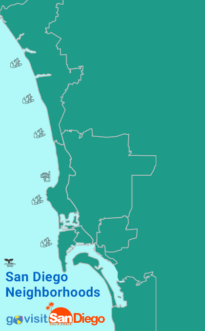 San Diego Neighborhood Map